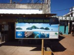 Tourist info counter at Coron wharf