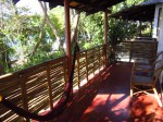 Our front porch with a view of Coron bay